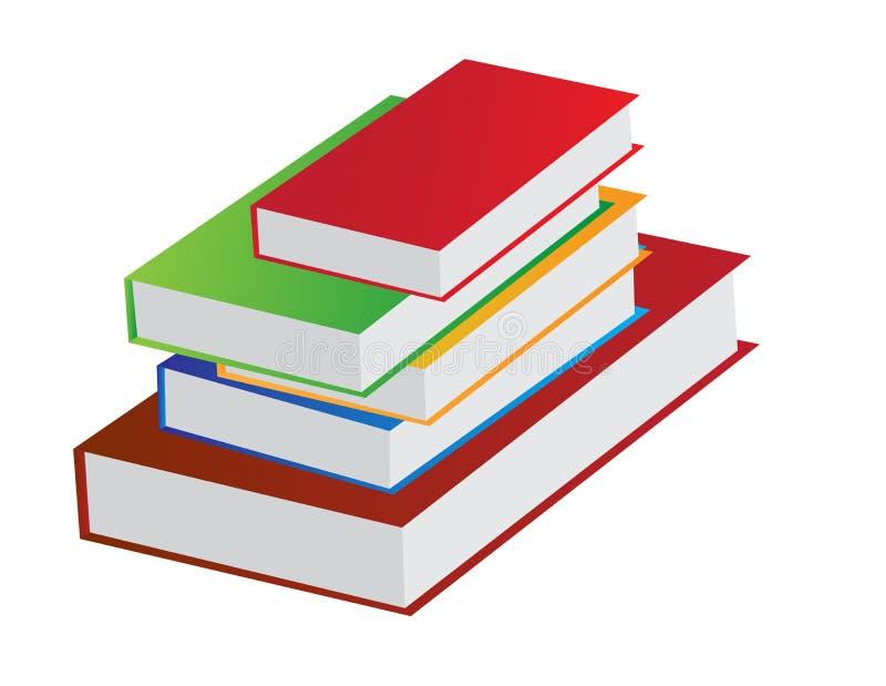 Σωρός βιβλίων απεικόνιση αποθεμάτων