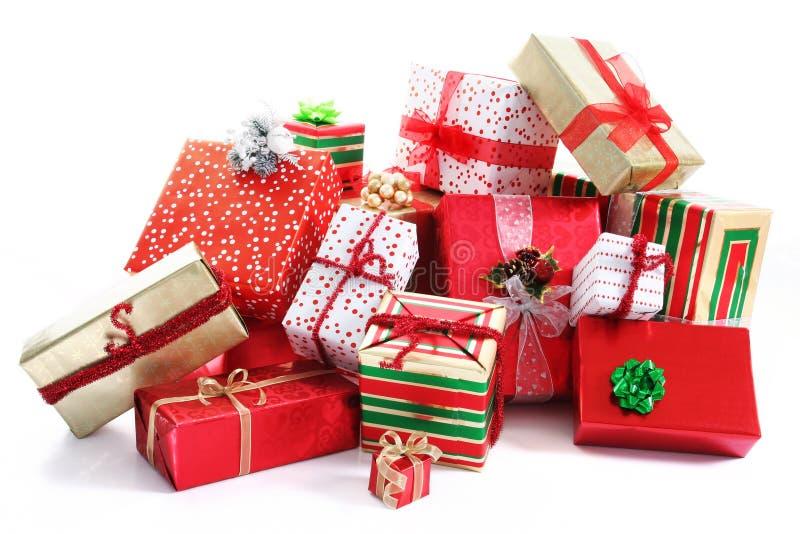 σωρός δώρων στοκ εικόνα με δικαίωμα ελεύθερης χρήσης