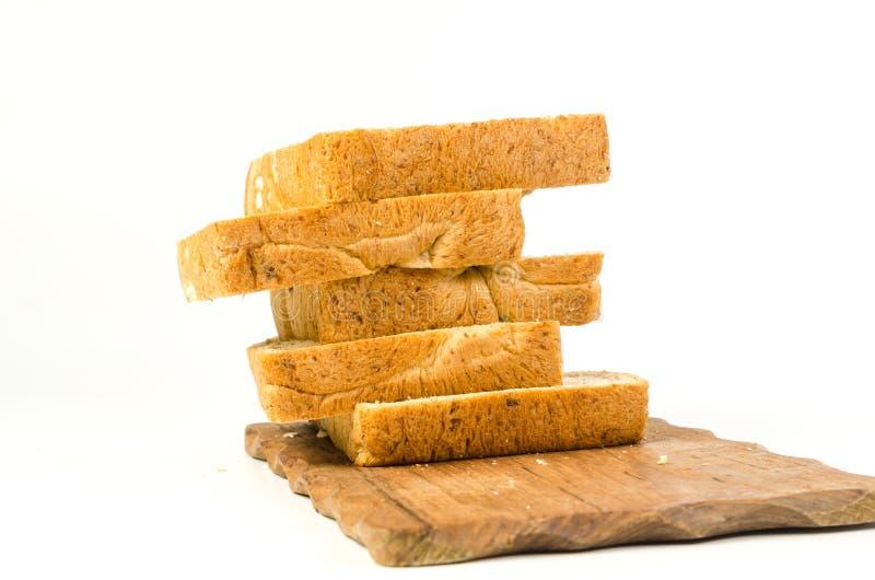 Σωρός ολόκληρου του ψωμιού σίτου στοκ εικόνα