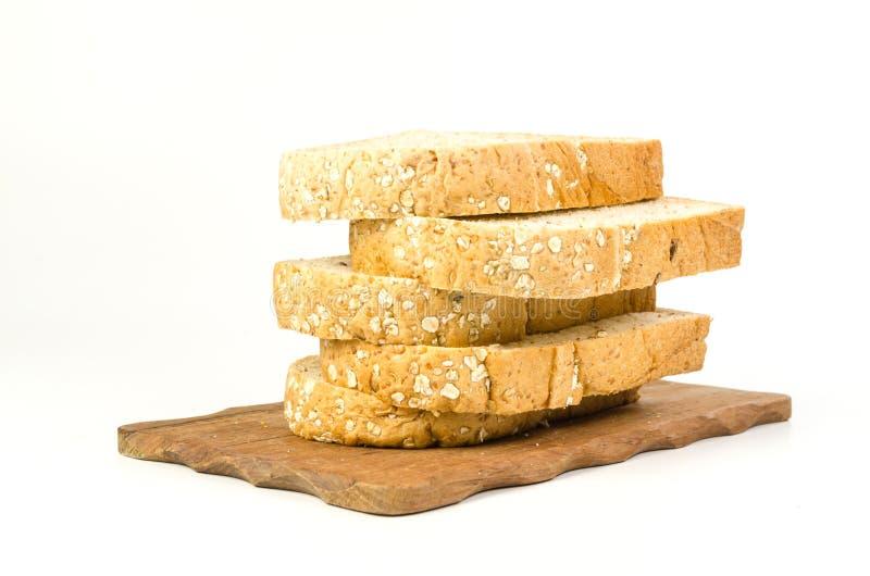Σωρός ολόκληρου του ψωμιού σίτου στοκ εικόνες