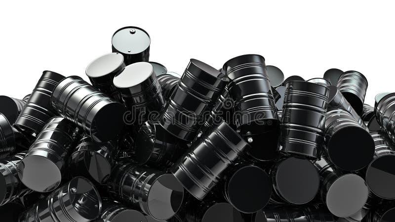 σωρός πετρελαίου τυμπάνω ελεύθερη απεικόνιση δικαιώματος