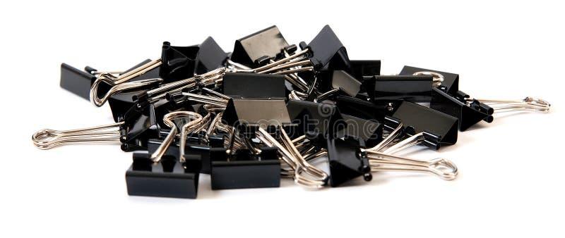σωρός συνδετήρων συνδέσμ&om στοκ φωτογραφία με δικαίωμα ελεύθερης χρήσης