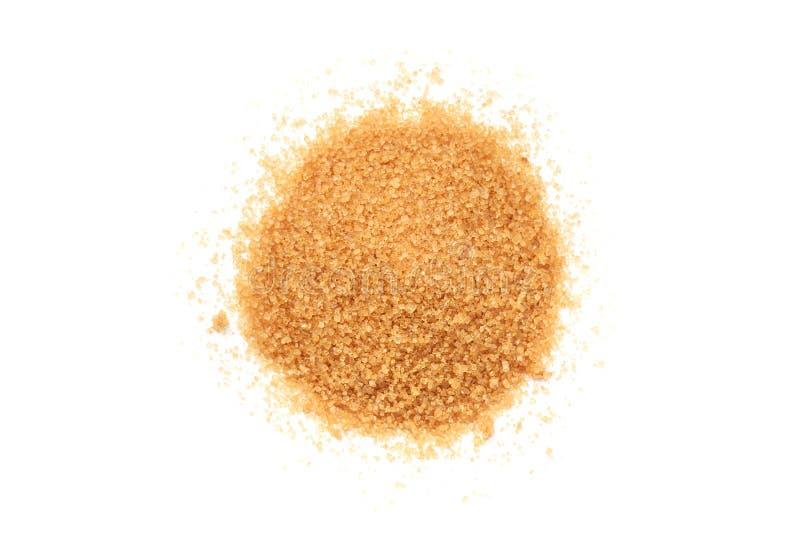 Σωρός της ζάχαρης καλάμων ανεπεξέργαστος στοκ εικόνα