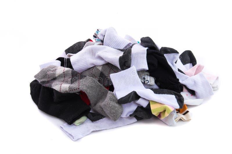 Σωρός της κάλτσας στοκ εικόνες