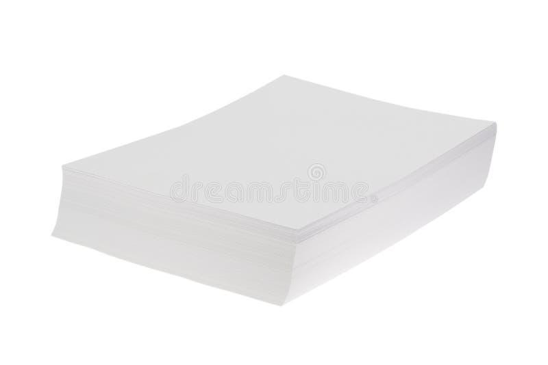 Σωρός της Λευκής Βίβλου απεικόνιση αποθεμάτων