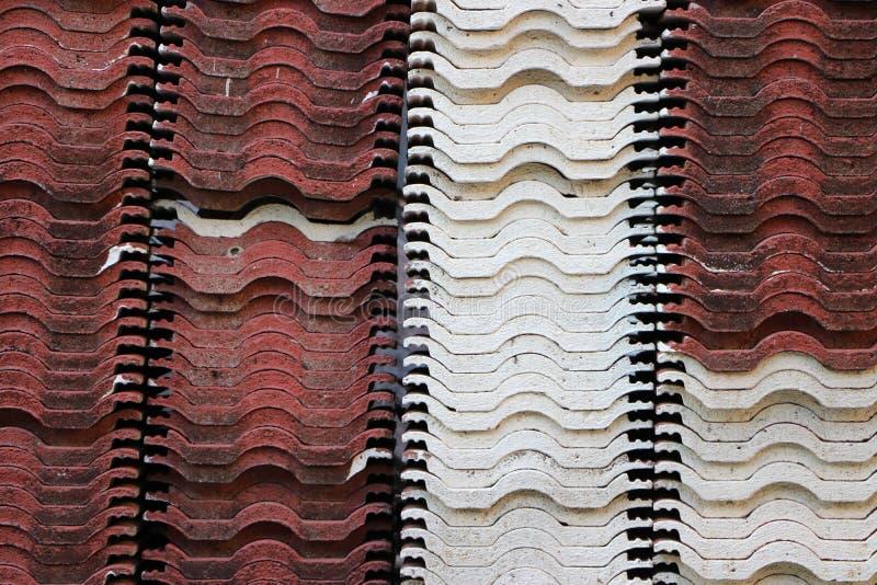 Σωρός του κεραμιδιού στεγών στοκ φωτογραφία με δικαίωμα ελεύθερης χρήσης