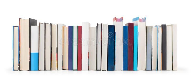 Σωρός των βιβλίων που απομονώνονται στοκ φωτογραφία με δικαίωμα ελεύθερης χρήσης