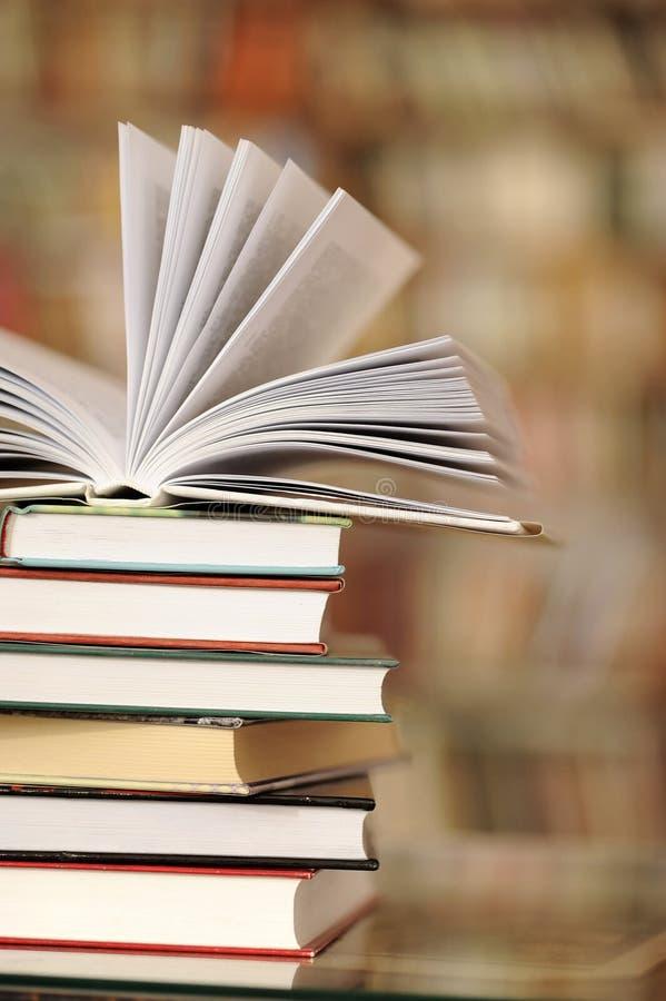 Σωρός των βιβλίων στοκ φωτογραφία