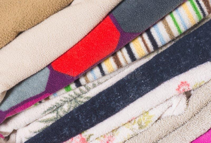 Σωρός των πετσετών στοκ εικόνα
