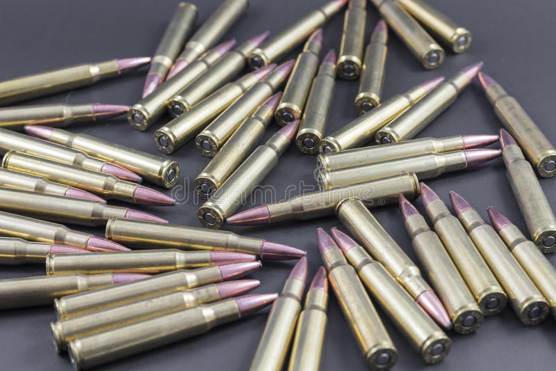 Σωρός των πυρομαχικών κυνηγιού στοκ φωτογραφίες με δικαίωμα ελεύθερης χρήσης