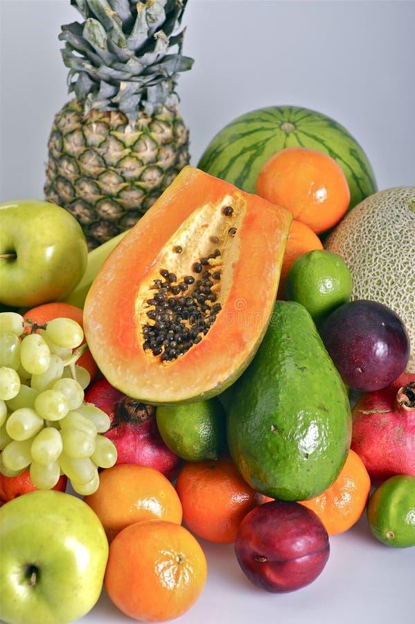 Σωρός φρούτων στοκ φωτογραφία