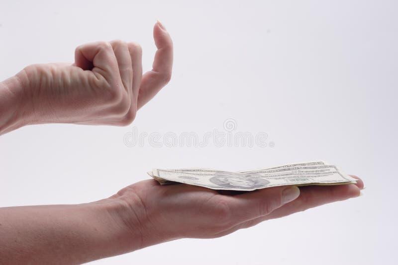Download σωρός χεριών μετρητών στοκ εικόνα. εικόνα από επιτυχία, κερδοφόρος - 56343