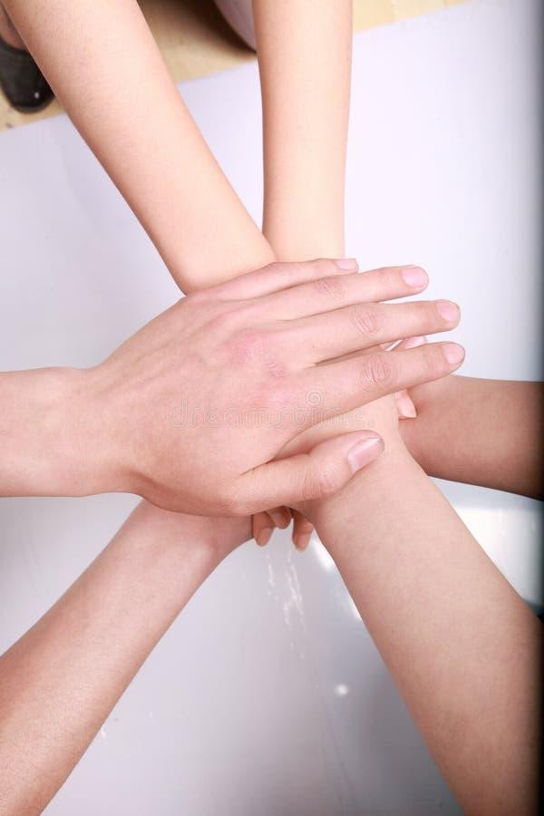 σωρός χεριών στοκ φωτογραφία με δικαίωμα ελεύθερης χρήσης