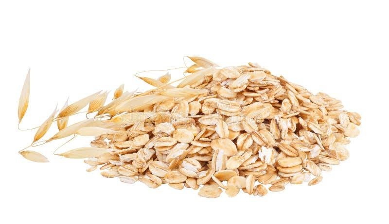 Σωρός oatmeal στοκ φωτογραφία με δικαίωμα ελεύθερης χρήσης