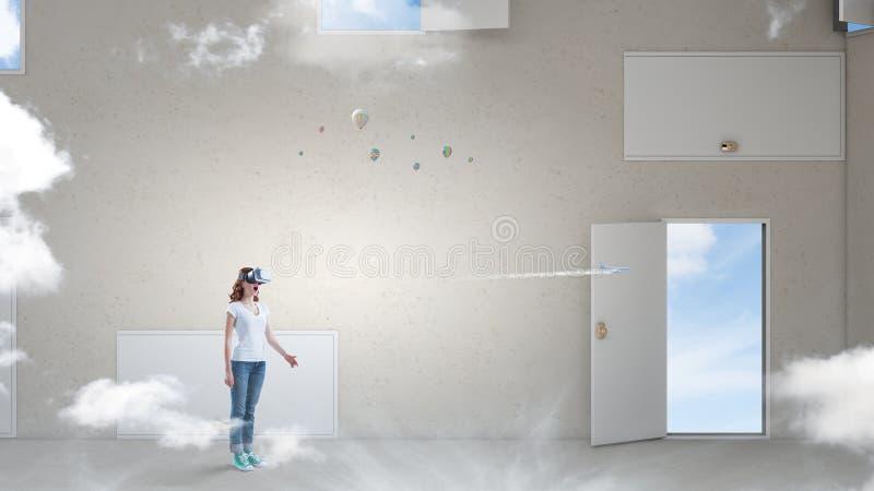 Σωστή απόφαση - παραγωγή και εικονική πραγματικότητα r στοκ φωτογραφίες