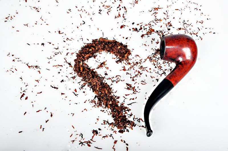 Σωλήνας και καπνός στοκ φωτογραφίες με δικαίωμα ελεύθερης χρήσης