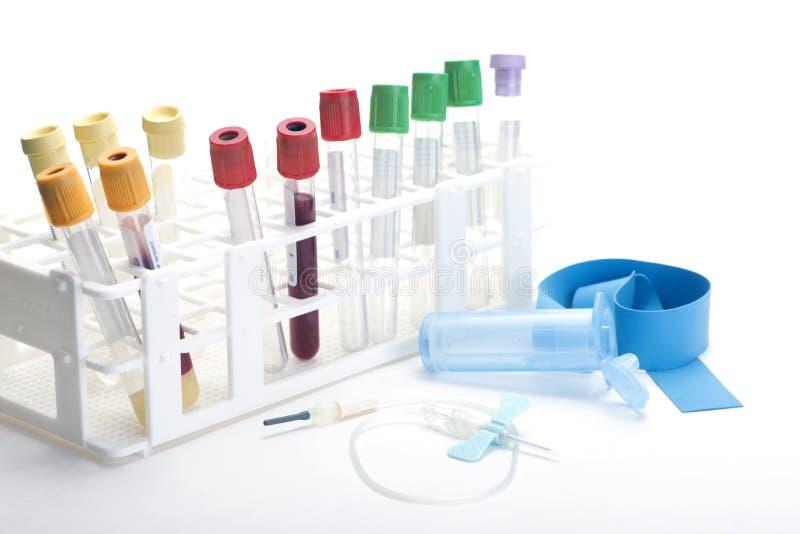 Σωλήνες συλλογής αίματος στοκ φωτογραφία με δικαίωμα ελεύθερης χρήσης