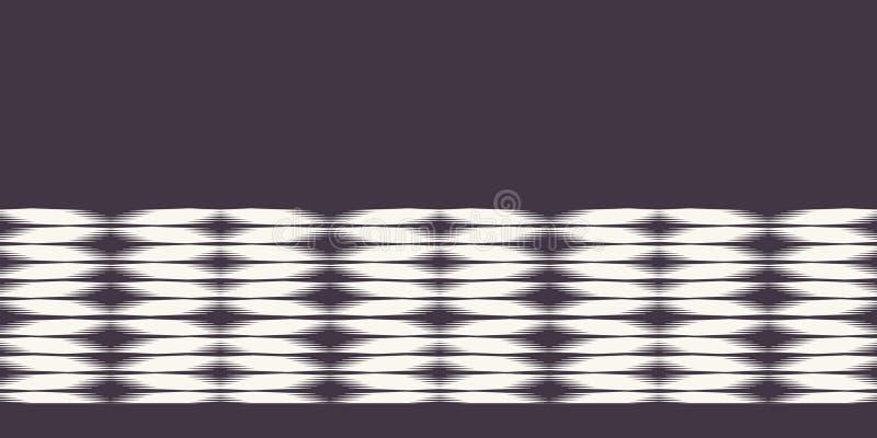 Σύγχρονα γεωμετρικά συρμένα χέρι υφαμένα σύνορα ύφους χρωστικών ουσιών δεσμών Επανάληψη του αφηρημένου υποβάθρου κλίσης Διακοσμητ ελεύθερη απεικόνιση δικαιώματος