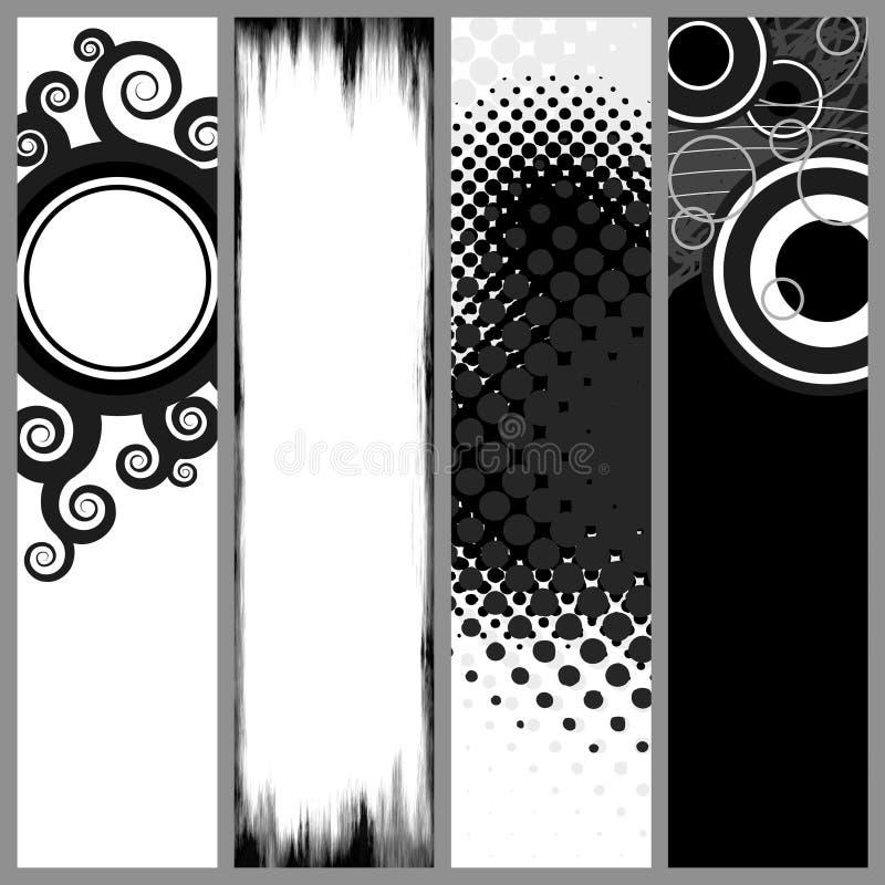σύγχρονα πρότυπα εμβλημάτ&omega διανυσματική απεικόνιση