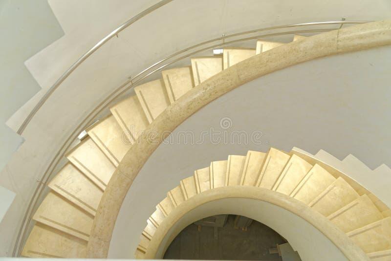 σύγχρονα σκαλοπάτια στοκ εικόνες