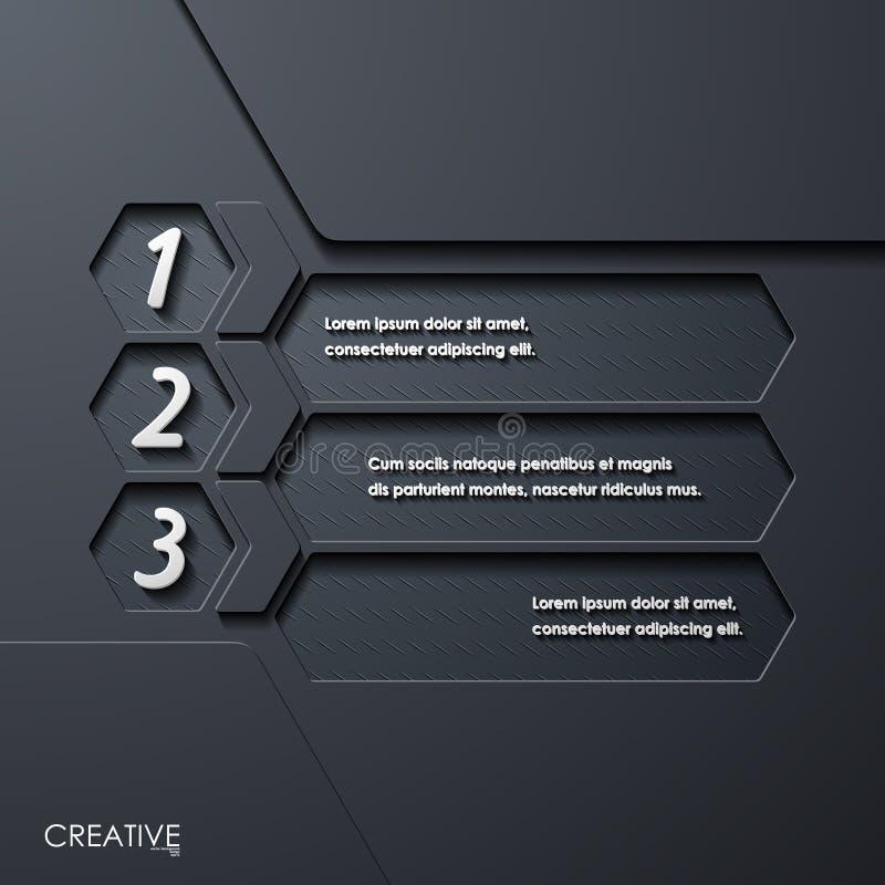 Σύγχρονα infographic, ρεαλιστικά στοιχεία σχεδίου απεικόνιση αποθεμάτων