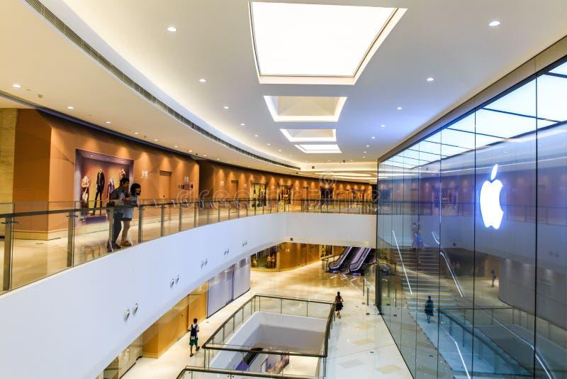 Σύγχρονες αγορές mallï ¼ Œparc Guangzhou κεντρικό στοκ εικόνα