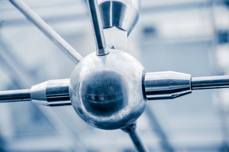 Σύγχρονες αρχιτεκτονικές λεπτομέρειες δομών φεγγιτών στοκ φωτογραφία με δικαίωμα ελεύθερης χρήσης