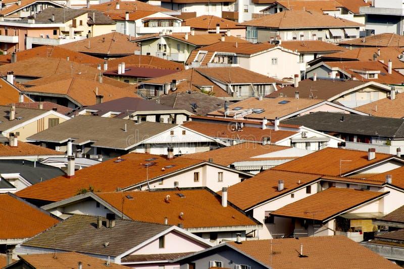 σύγχρονες στέγες στοκ εικόνες με δικαίωμα ελεύθερης χρήσης