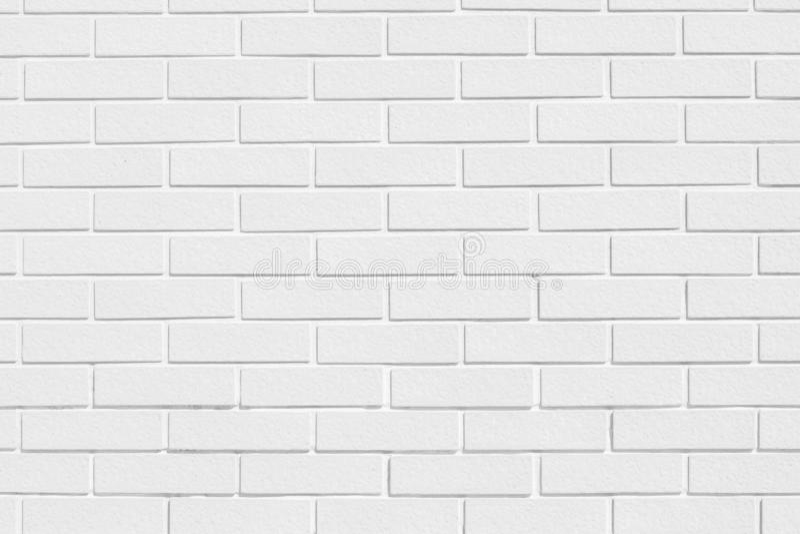 Σύγχρονη άσπρη σύσταση τουβλότοιχος για το υπόβαθρο στοκ εικόνες