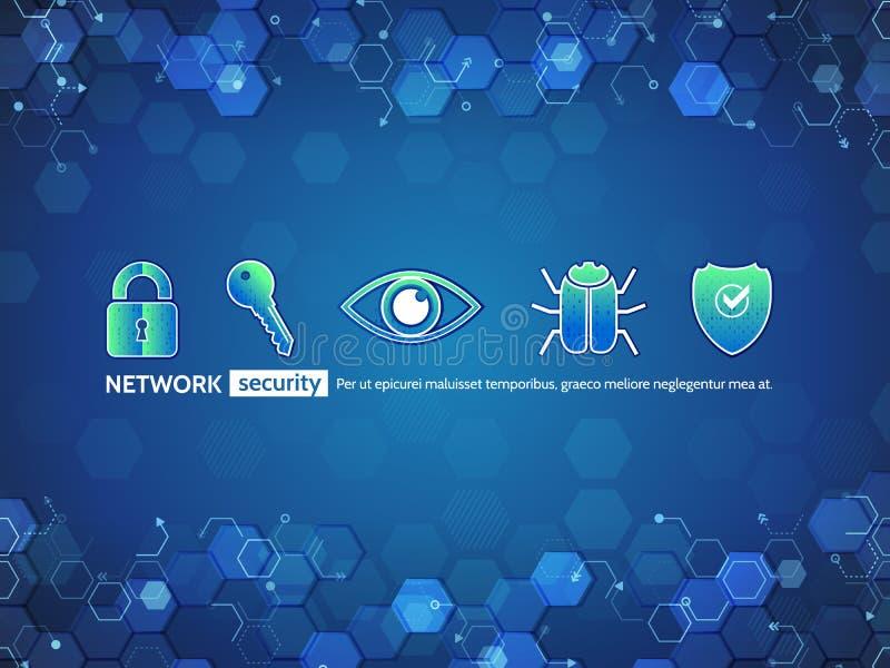 Σύγχρονη απεικόνιση επικοινωνίας με τα διάφορα τεχνολογικά στοιχεία απεικόνιση αποθεμάτων