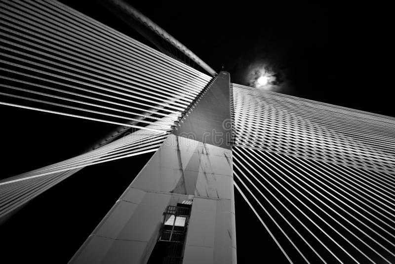 Σύγχρονη αρχιτεκτονική γεφυρών στοκ φωτογραφία με δικαίωμα ελεύθερης χρήσης