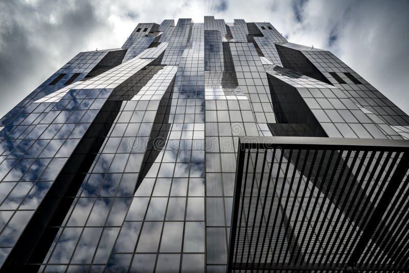 Σύγχρονη αρχιτεκτονική στη Βιέννη στοκ φωτογραφία με δικαίωμα ελεύθερης χρήσης