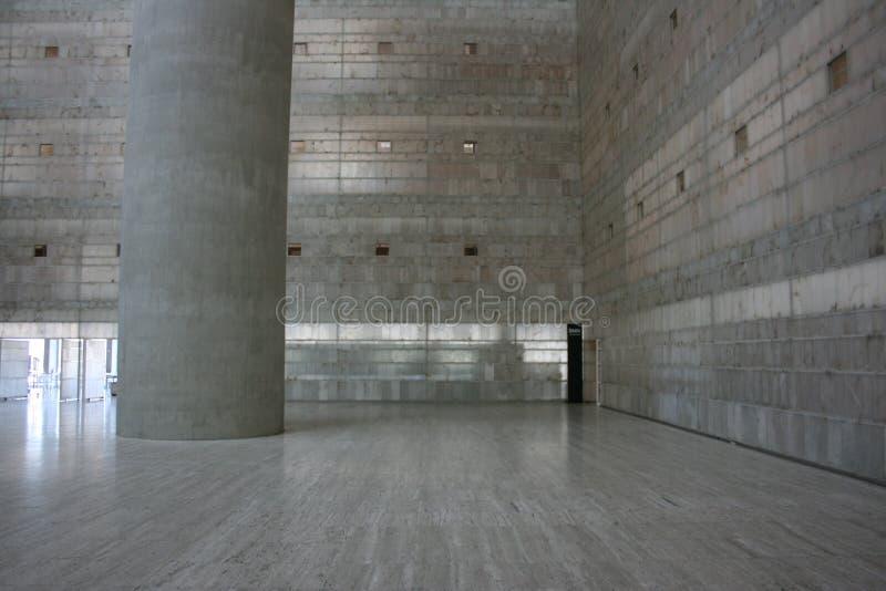 Σύγχρονη αρχιτεκτονική στο κτήριο Caja Γρανάδα στοκ εικόνες με δικαίωμα ελεύθερης χρήσης