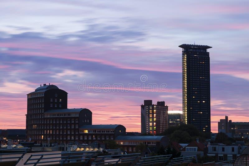 Σύγχρονη αρχιτεκτονική της Χάγης στοκ φωτογραφίες με δικαίωμα ελεύθερης χρήσης