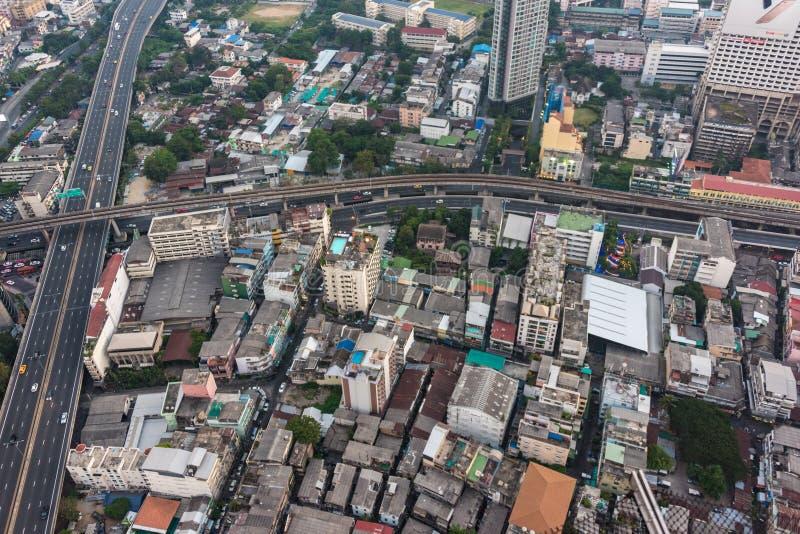 Σύγχρονη ασιατική megalopolis εικονική παράσταση πόλης στοκ φωτογραφίες