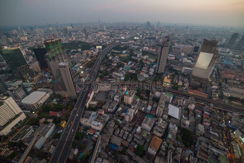 Σύγχρονη ασιατική megalopolis εικονική παράσταση πόλης στοκ φωτογραφίες με δικαίωμα ελεύθερης χρήσης