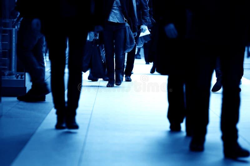 σύγχρονη βιασύνη εμπορικών στοκ φωτογραφία με δικαίωμα ελεύθερης χρήσης