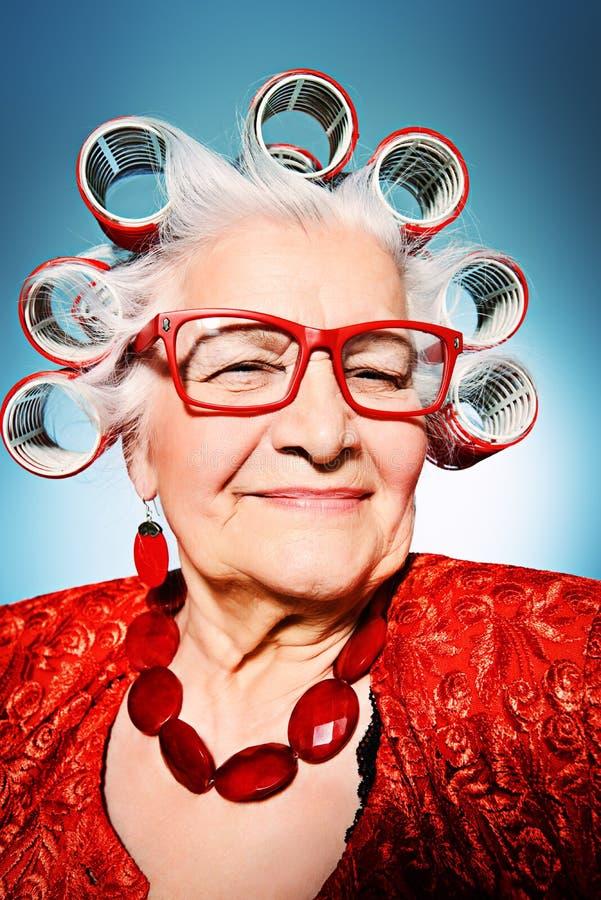 Σύγχρονη γιαγιά στοκ φωτογραφία