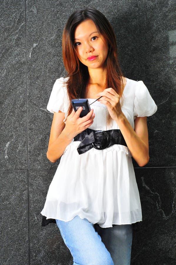 σύγχρονη γυναίκα σταδιοδρομίας στοκ φωτογραφία με δικαίωμα ελεύθερης χρήσης