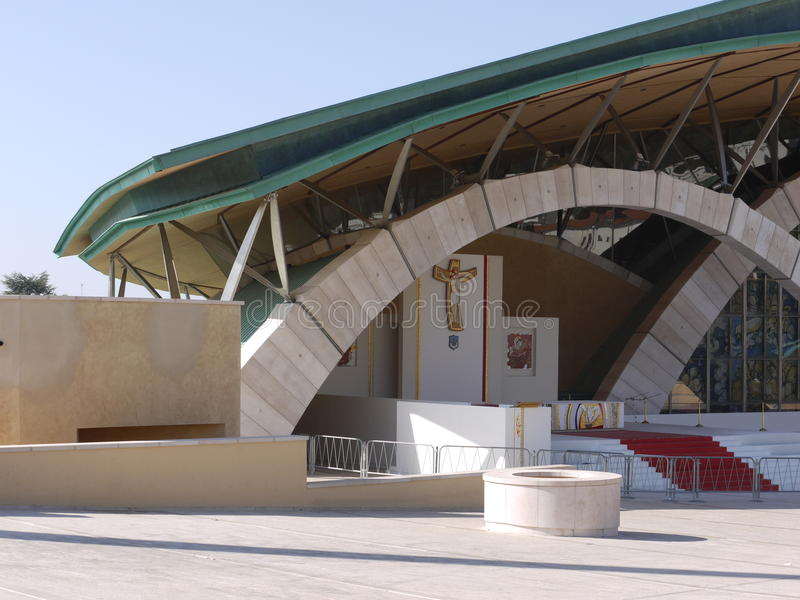 Σύγχρονη εκκλησία αρχιτεκτονικής στοκ εικόνα με δικαίωμα ελεύθερης χρήσης