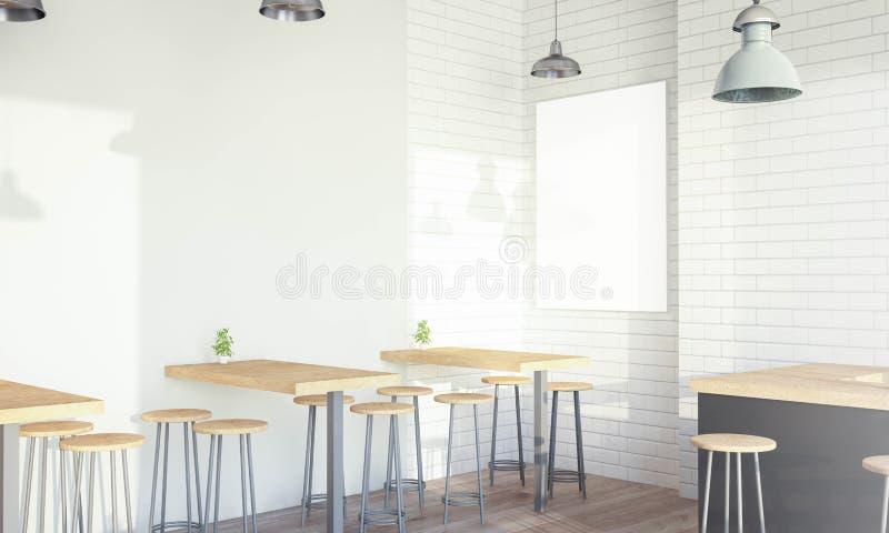 Σύγχρονη καφετερία διανυσματική απεικόνιση