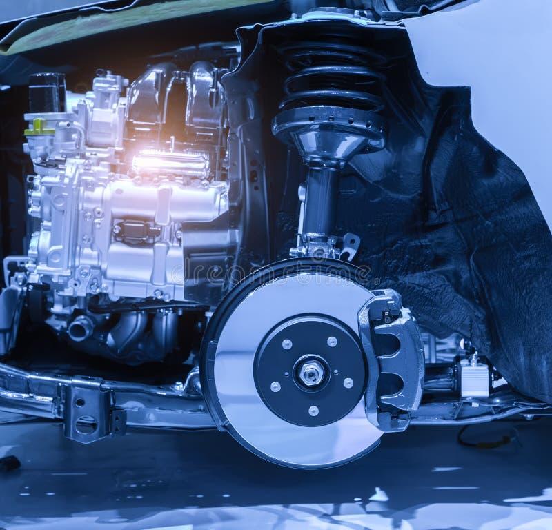 Σύγχρονη μηχανή αυτοκινήτων στοκ εικόνες με δικαίωμα ελεύθερης χρήσης