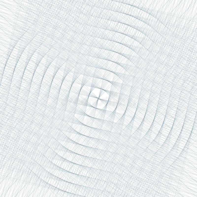 σύγχρονη μοντέρνη σύσταση Επανάληψη των γεωμετρικών κεραμιδιών με γεμισμένος με διαστιγμένα hexagons διανυσματική απεικόνιση
