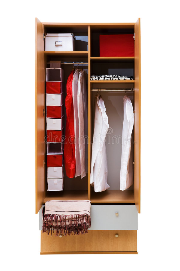 Σύγχρονη ντουλάπα στοκ φωτογραφίες