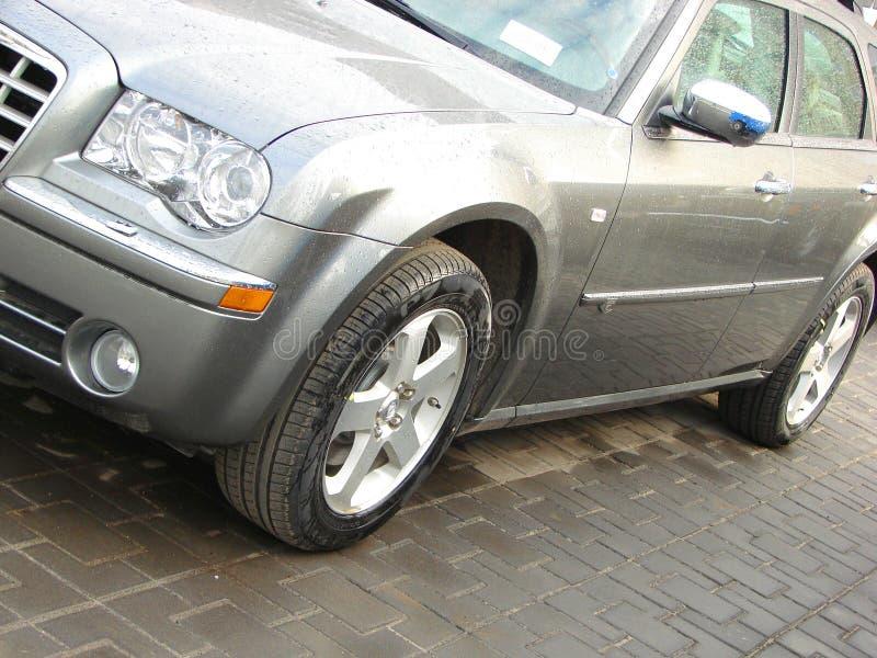 Σύγχρονη πλευρά αυτοκινήτων ύφους στοκ φωτογραφία