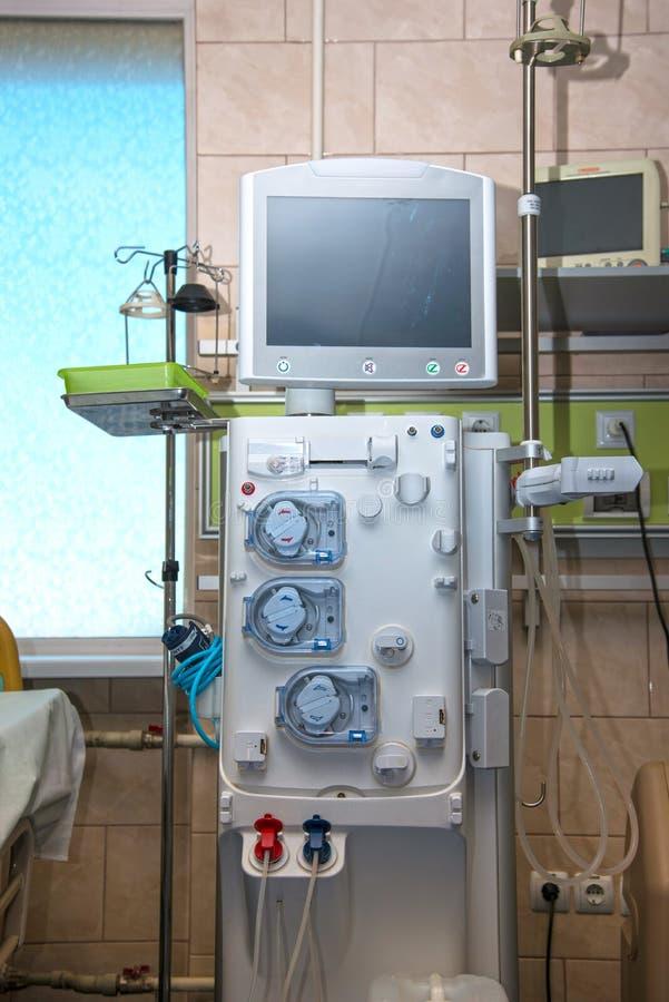 Σύγχρονη συσκευή για την παράδοση των φαρμάκων του ασθενή στο resusc στοκ φωτογραφία