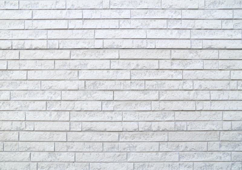 Σύγχρονος άσπρος τουβλότοιχος πετρών στοκ εικόνες