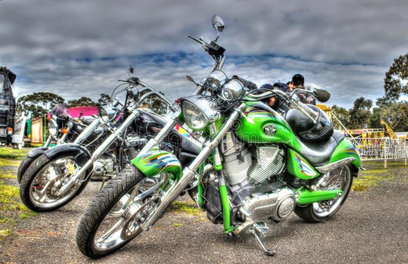 Σύγχρονος Αμερικανός έχτισε τη μοτοσικλέτα νίκης στοκ φωτογραφίες
