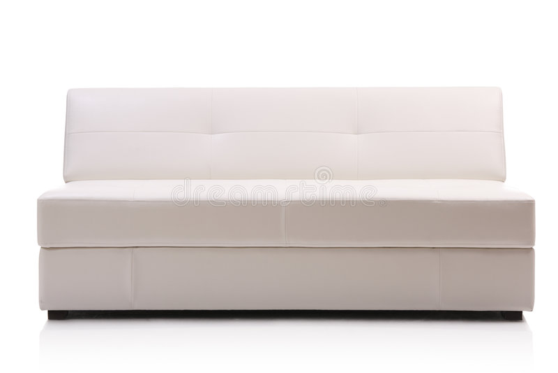 σύγχρονος καναπές δέρματος εικόνας στοκ εικόνα με δικαίωμα ελεύθερης χρήσης