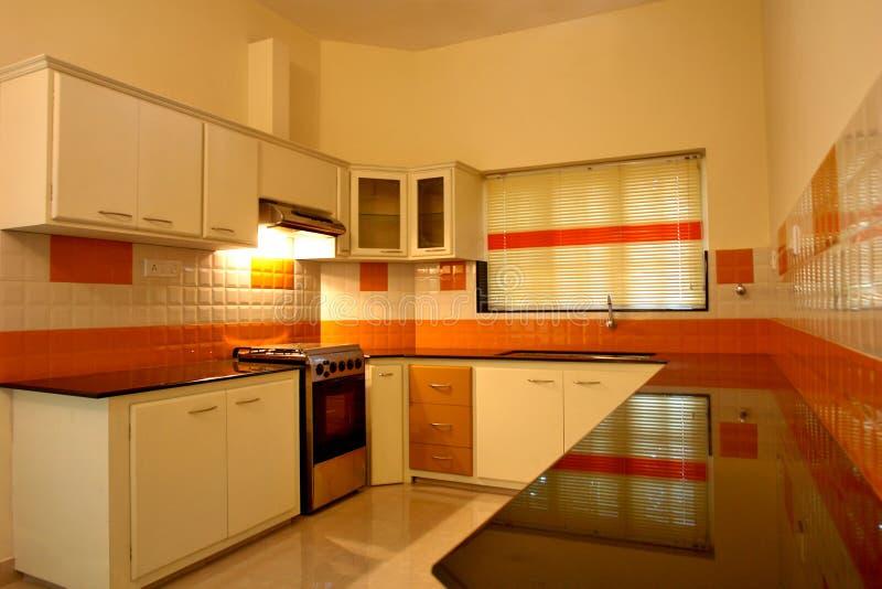 σύγχρονος μορφωματικός κουζινών στοκ εικόνες